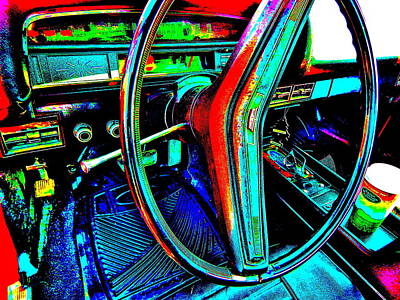 Photograph - Oxford Car Show II 1 by George Ramos