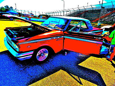 Photograph - Oxford Car Show II 19 by George Ramos