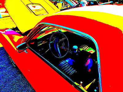 Photograph - Oxford Car Show II 2 by George Ramos