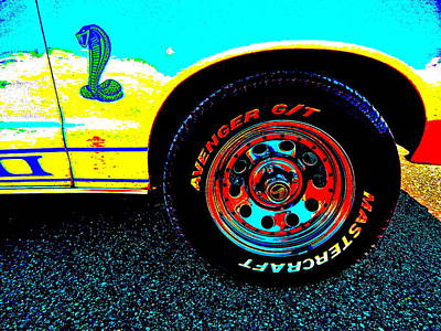Photograph - Oxford Car Show II 4 by George Ramos