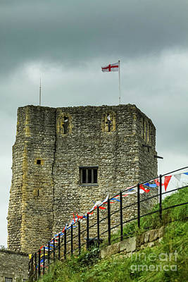 Photograph - Oxford Castle Tower, Oxford, England, Uk by Tom Rydel