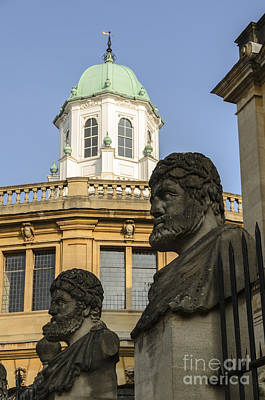 Photograph - Oxford Sheldonian Theatre by Michael  Winters
