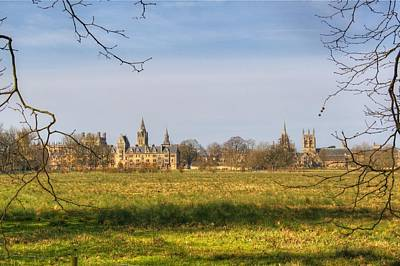 Photograph - Oxford Skyline by Chris Day