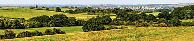 Photograph - Oxford Spires And Countrysidepanorama by Ken Brannen