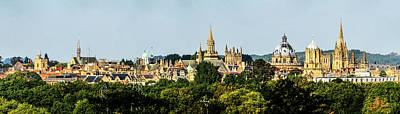 Photograph - Oxford Spires by Ken Brannen