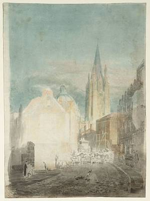 Kingdom Painting - Oxford St Mary by Joseph Mallord