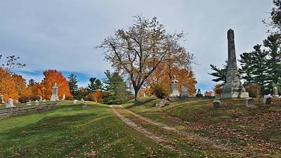 Elm Digital Art - Oxford Trail by 2141 Photography