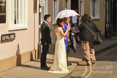 Photograph - Oxford Wedding by Terri Waters