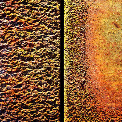 Photograph - Oxidation ...rift by Tom Druin