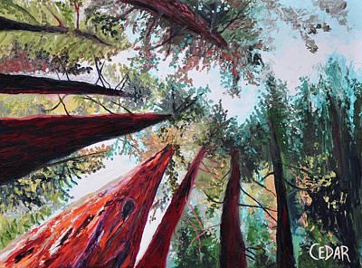 Painting - Oxygen by Cedar Lee
