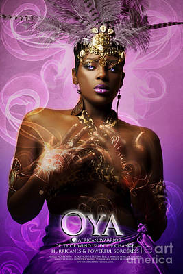 Oya Art Print by James C Lewis