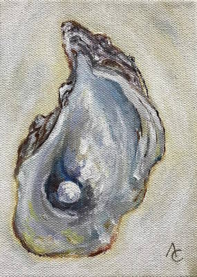 Painting - Oyster by Analisa Chase