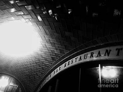 Oyster Bar At Grand Central Art Print