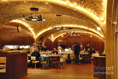 Photograph - Oyster Bar At Grand Central Terminal by Jacqueline M Lewis