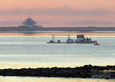 Photograph - Oyster Barge by Janice Drew