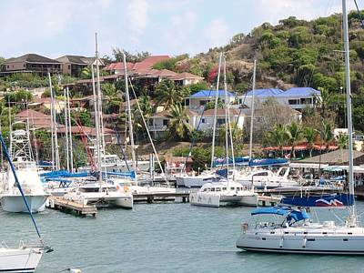 Art Print featuring the photograph Oyster Bay Marina by Margaret Bobb