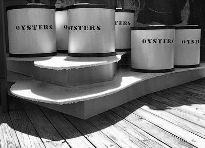Oyster Containers Art Print by Steven Ainsworth