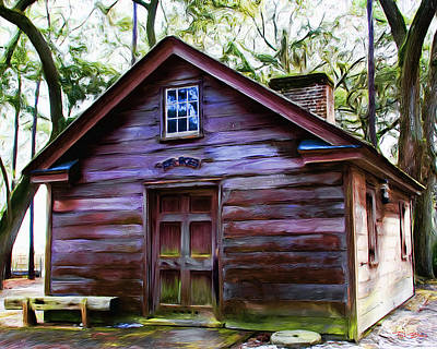 Oyster House On  Henry Ford Plantation Art Print