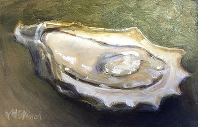 Painting - Oyster by Michel McNinch