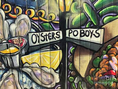 Photograph - Oyster Poboys by Flavia Westerwelle