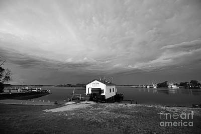 Photograph - Oyster Shed by Sandro Rossi