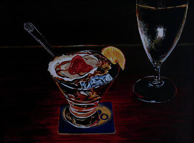 Painting - Oyster Shooter by Susan Duda