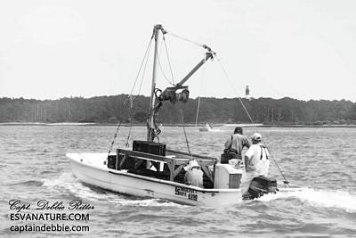 Photograph - Oystermen 2 by Captain Debbie Ritter