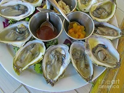 Oysters In Season Art Print