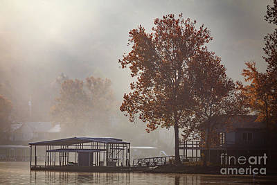 Photograph - Ozark Autumn Mist by Dennis Hedberg