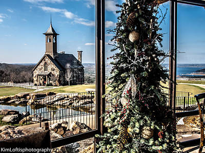 Photograph - Ozark Christmas  by Kim Loftis