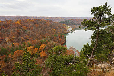 Photograph - Ozark Fall Color by Dennis Hedberg