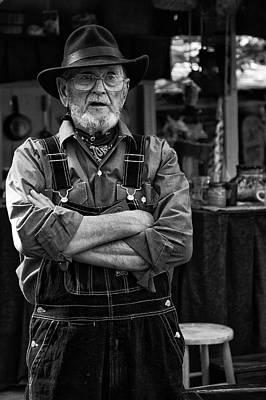 Photograph - Ozark Mountain Citizen by Vinnie Oakes