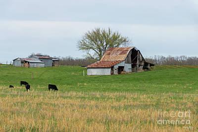 Photograph - Ozark Old Farm by Jennifer White