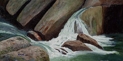Painting - Ozark Spring Creeks by Garry McMichael