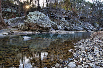Photograph - Ozark Stream by Joe Sparks