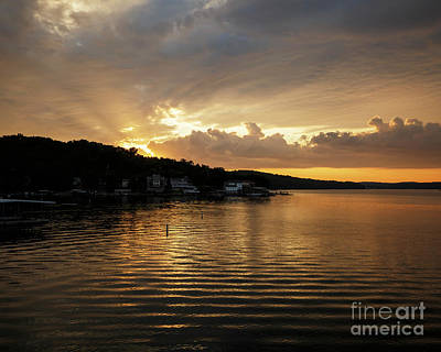 Photograph - Ozark Sunrise 3 by Dennis Hedberg