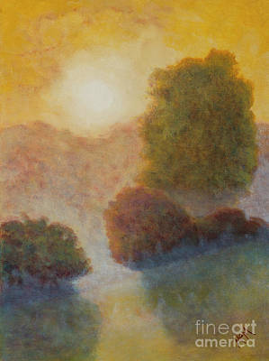 Painting - Ozark Sunrise by Garry McMichael