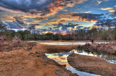 Photograph - Ozark Sunset by Steve Stuller
