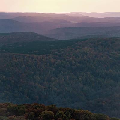 Photograph - Ozark Sunset - White Rock Mountain by Gregory Ballos