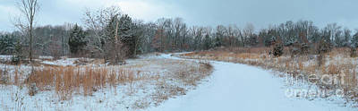 Photograph - Ozark Winter Panorama by Garry McMichael