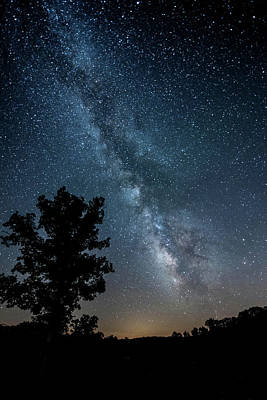 Photograph - Ozarks Milky Way by Linda Shannon Morgan