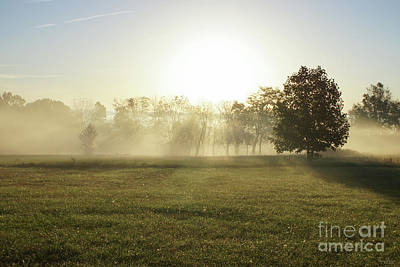 Photograph - Ozarks Morning Fog by Jennifer White