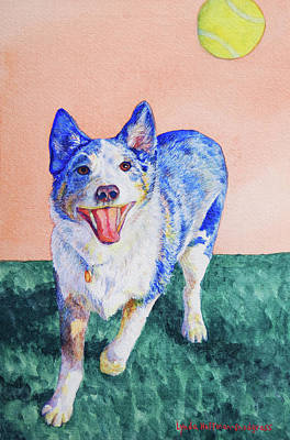 Painting - Ozzie by Lynda Hoffman-Snodgrass