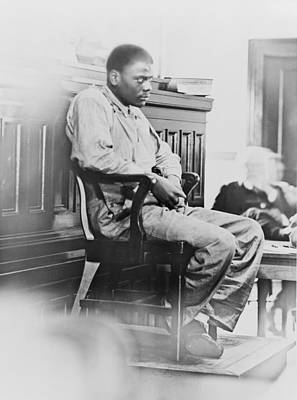 Discrimination Photograph - Ozzie Powell, One Of The Nine by Everett