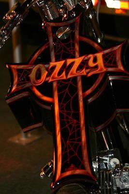 Ozzy Bike Art Print by Robert  Torkomian