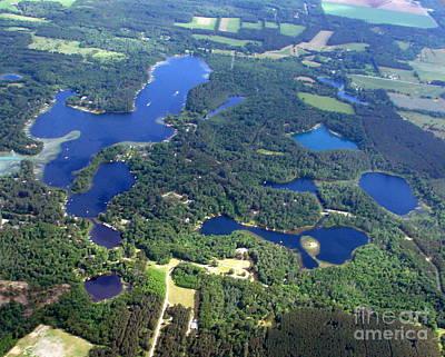 Photograph - P-008 Pope Knight Marl Long Young Lakes Chain O Lakes Waupaca by Bill Lang