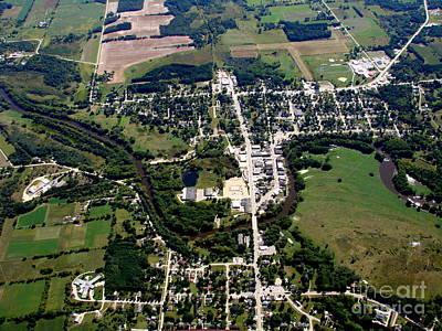Photograph - P-011 Princeton Green Lake County Wisconsin by Bill Lang