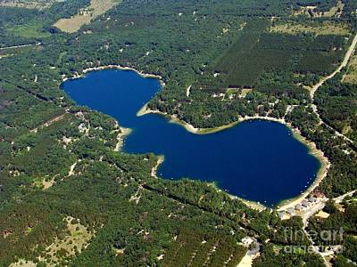Photograph - P-012 Pearl Lake Waushara County Wisconsin by Bill Lang