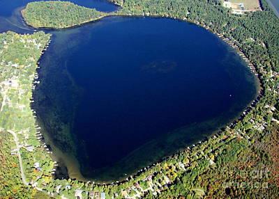 Photograph - P-014 Pine Lake Shawano County Wisconsin by Bill Lang