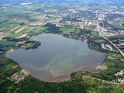 Photograph - P-015 Pike Lake Washington County Wisconsin by Bill Lang
